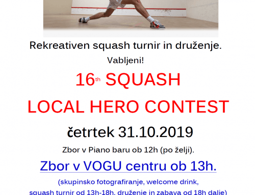 SQUASH LOCAL HERO CONTEST